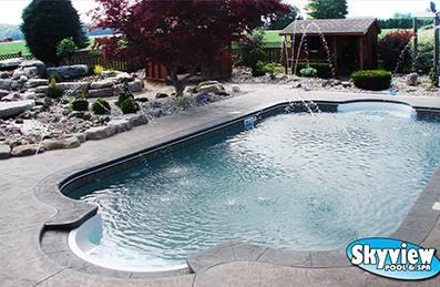 Skyview Pool And Spa Ltd Pools